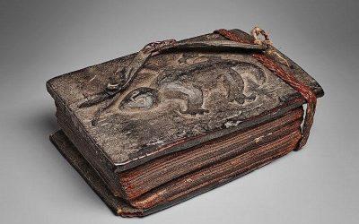 000678 Sumatra, Batak, priest's book