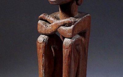 000342 Moluccas, Leti, ancestor figure